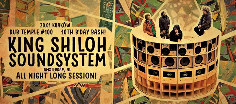 100 sesja Dub Temple – King Shiloh Sound System