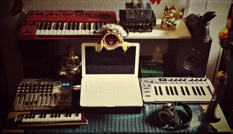 Alpha Steppa Studio equipment