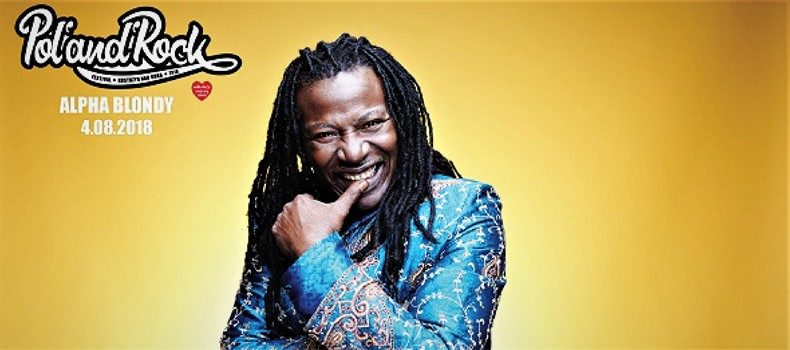 Alpha Blondy na Pol'and'Rock Festival 2018