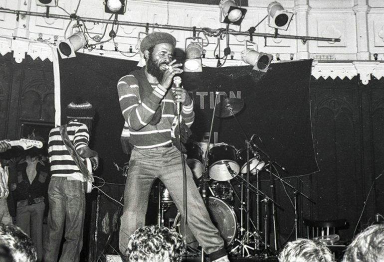 Prince Far I & Creation Rebel circa 1978